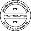 Officially approved Porsche Club 277